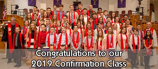 2019 Confirmation