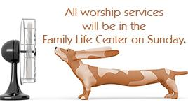 Worship Services location