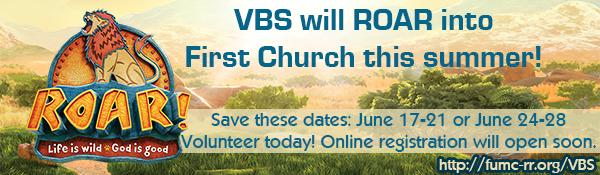 VBS - Save the Date