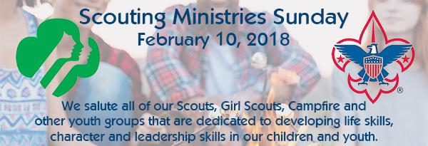 Scouting Ministries Sunday