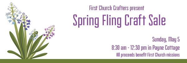 Crafters Spring Sale