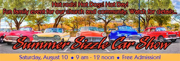 Summer Sizzle Car Show