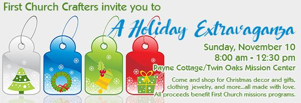 Crafters Holiday Sale
