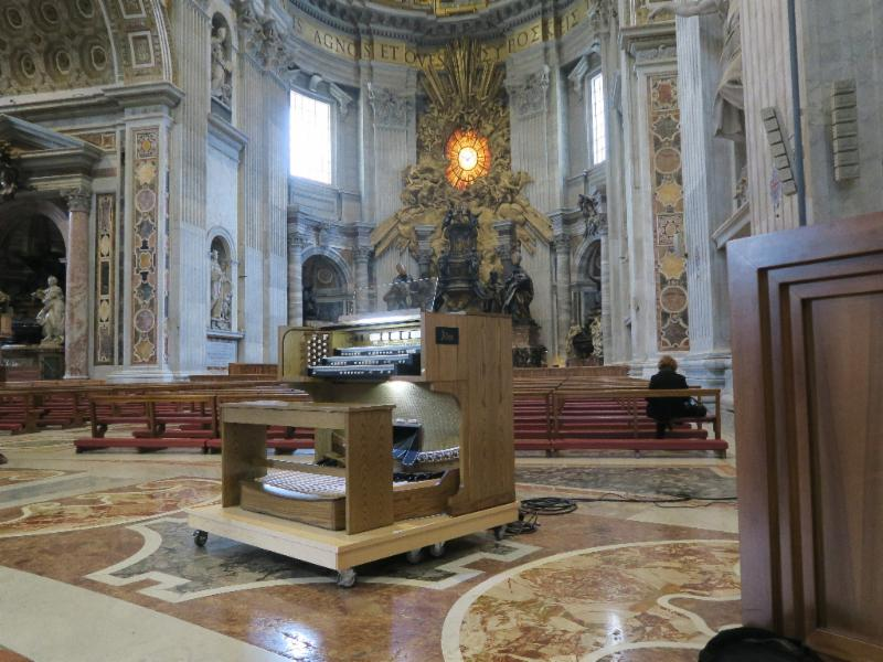 2017-12 Allen Organ at Vatican