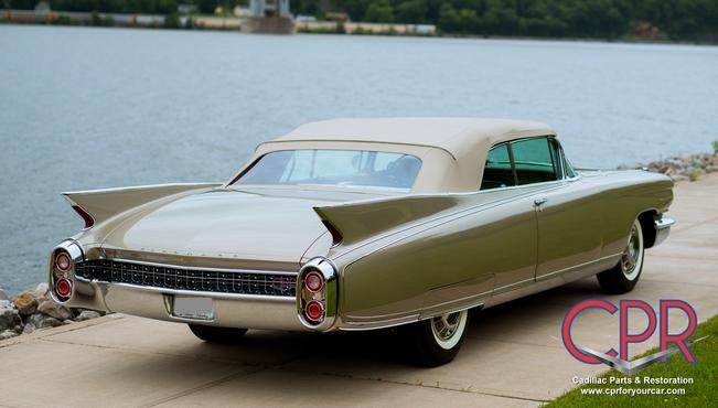 1960 Eldorado Biarritz - recently completed Cadillac restoration