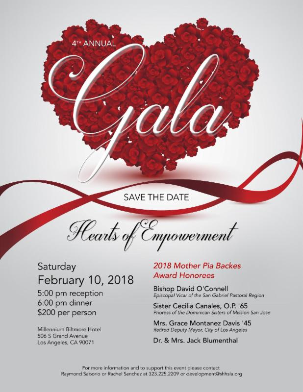 Gala 2018- Save The Date