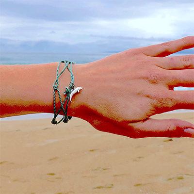 Dolphin-Fish Net Bracelet