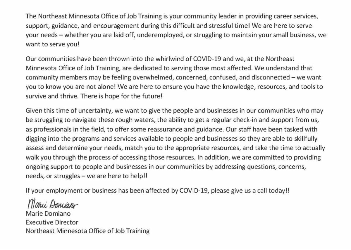 NEMOJT Programs & Services update