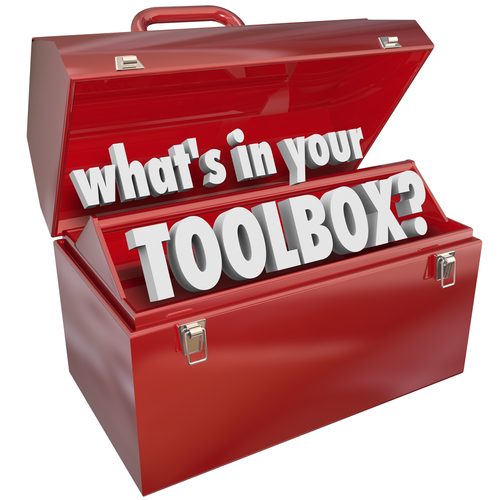 The question What s in Your Toolbox  asking if you have the skills and experience necessary to perform a task or job