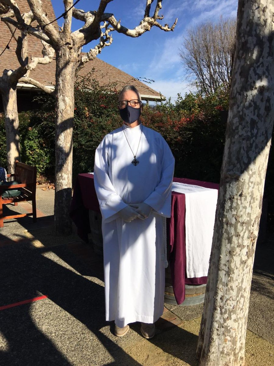 Outside Communion during COVID