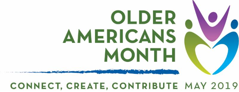 Older Americans Month Logo 2019