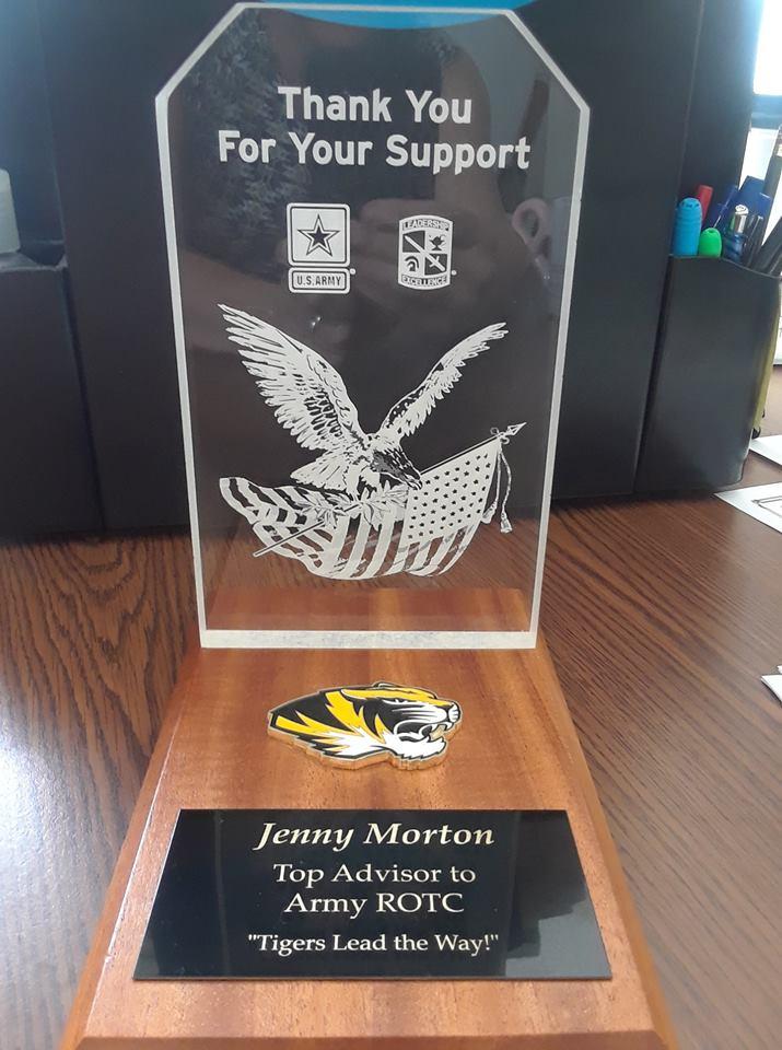 Jenny Morton award