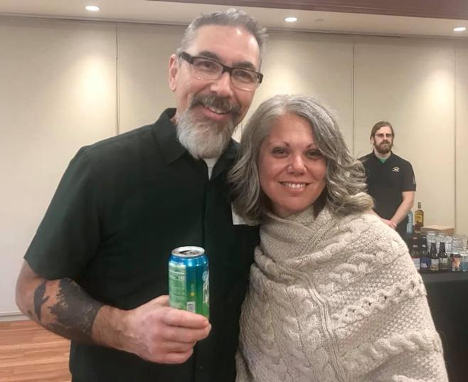 photo of Dennis Kelley and Crystal Kroner