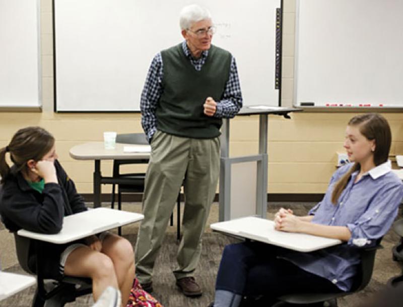 Associate Teaching Professor Emeritus Bob Flanagan