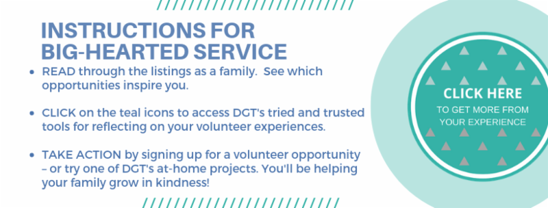 2019 Seattle Family Volunteer Opportunities — Doing Good Together™