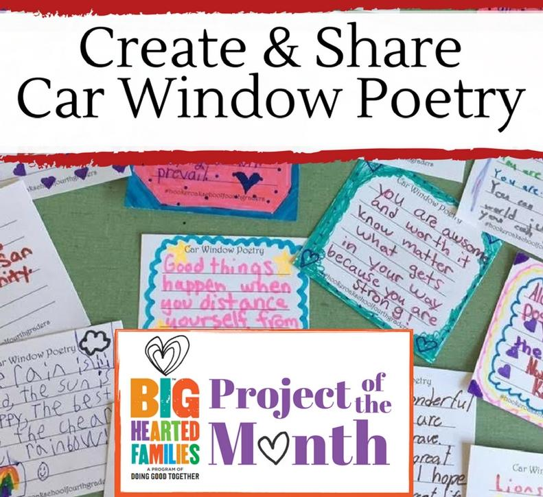 Car Window Poetry
