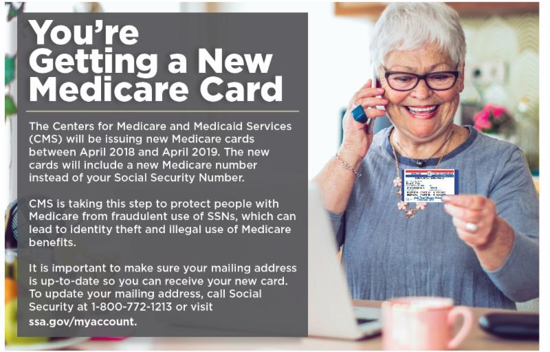 Youre getting a new medicare card