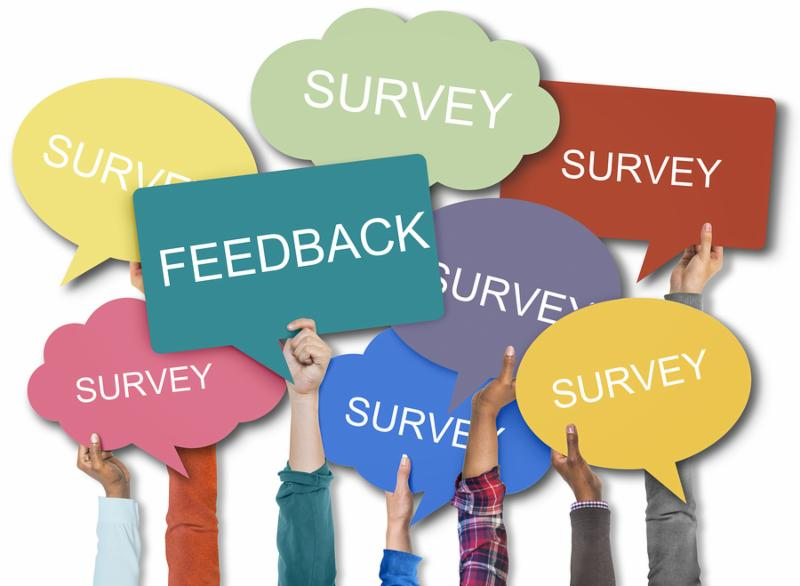 Feedback Survey Words Speech Bubble