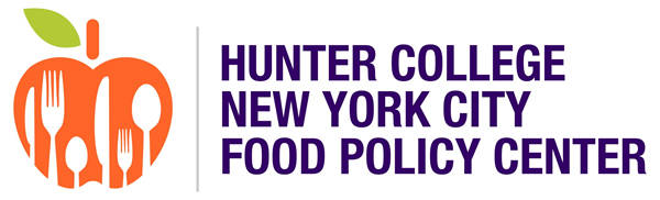 This is an image of the Hunter College New York City Food Policy Center logo.