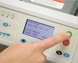 FD 2054 pressure seal control panel