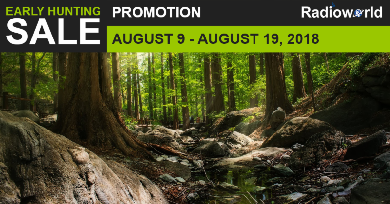 Early Hunting Sale Promotion at Radioworld