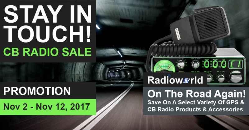 Stay In Touch! CB Radio Sale Promotion at Radioworld
