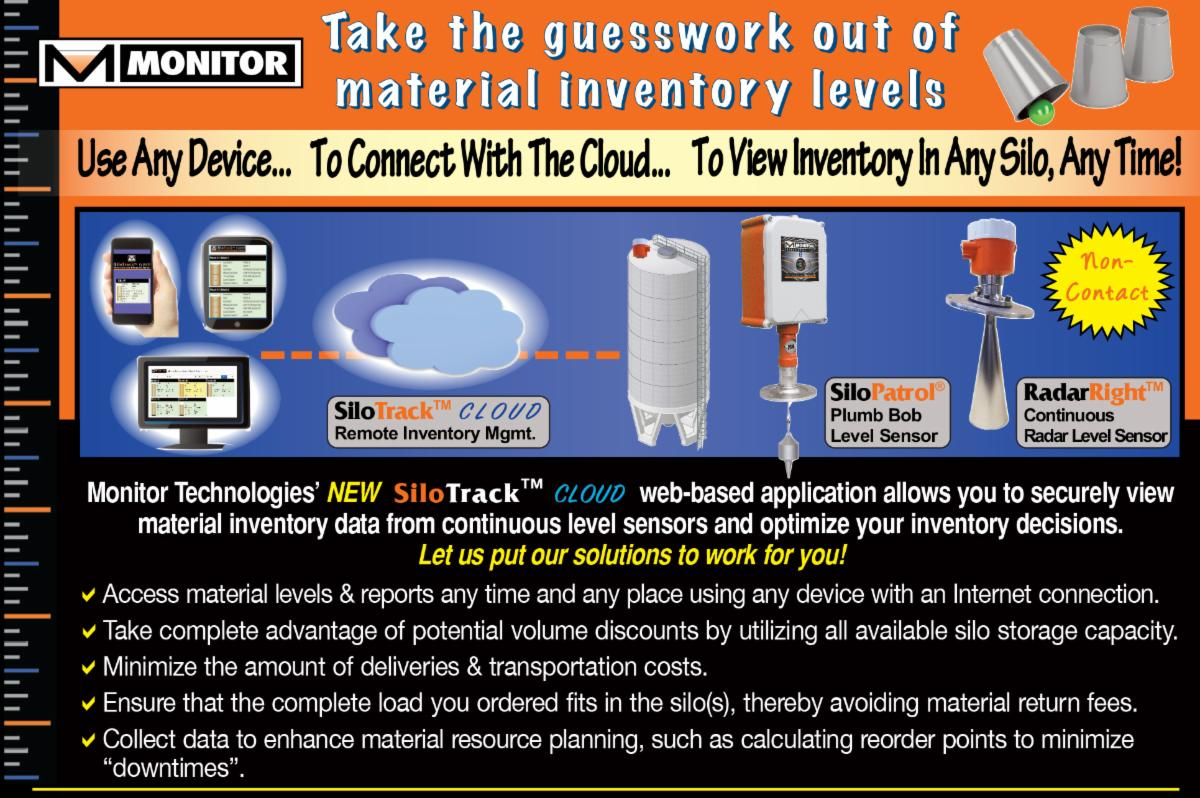 SiloTrack Cloud and Continuous Level Sensors