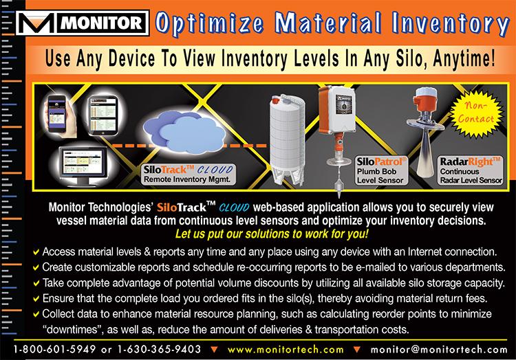 SiloTrack Cloud and Continuous Level Sensor