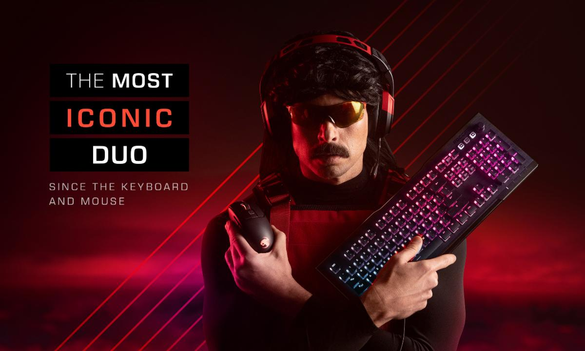 Geek insider, geekinsider, geekinsider. Com,, roccat becomes dr disrespect's exclusive partner for pc gaming mice, keyboards, & more, tech news