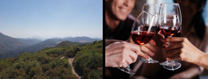 oct hike and wine tasting