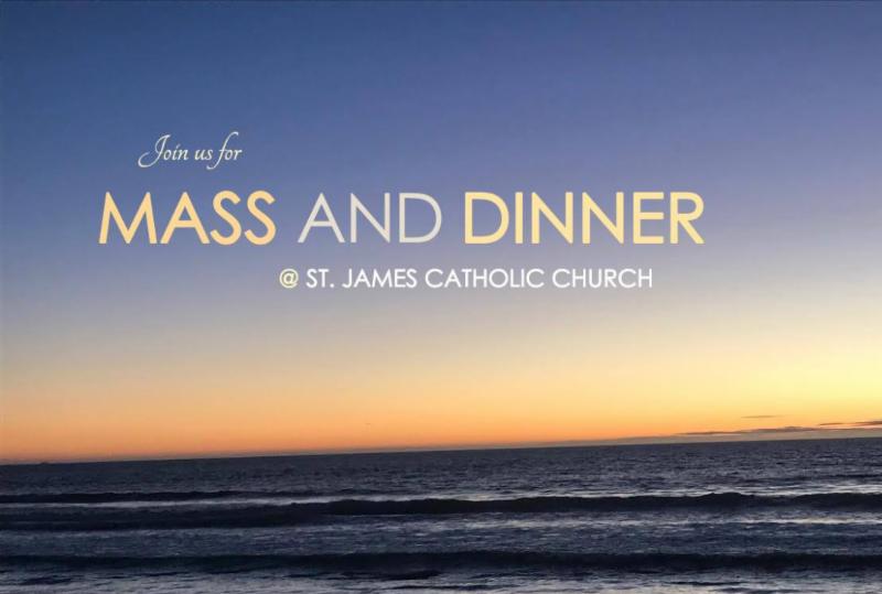 YA mass and dinner
