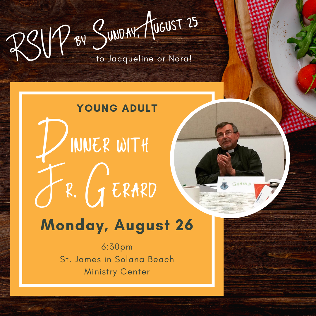 dinner with fr. gerard