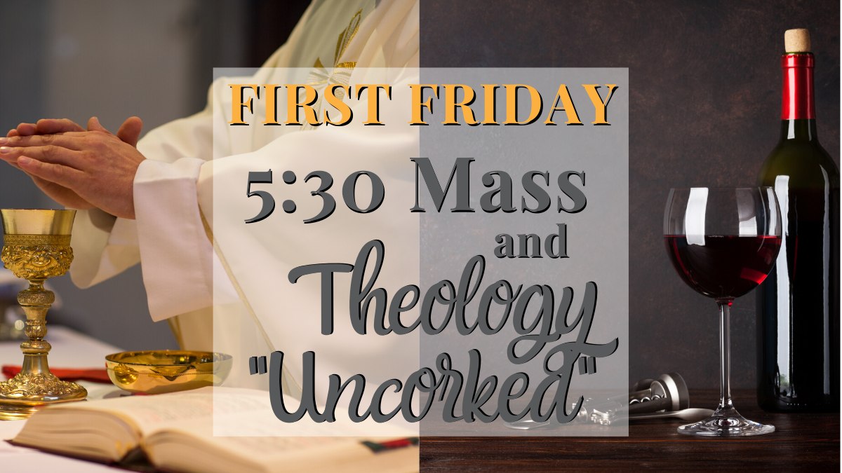 first friday and uncorked