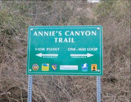 annies canyon trail