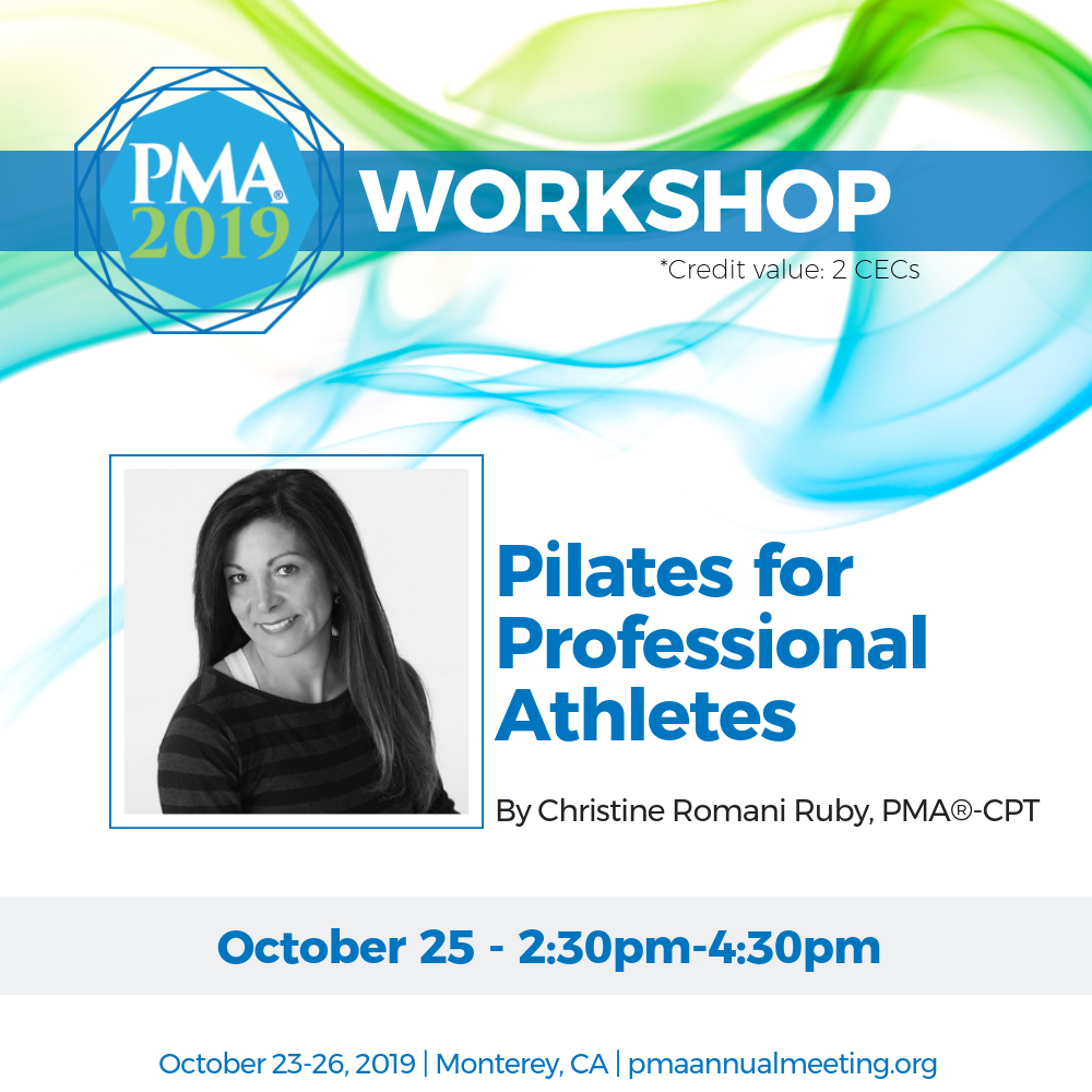 Dr. Christine Ruby 2019 PMA Workshop Presenter