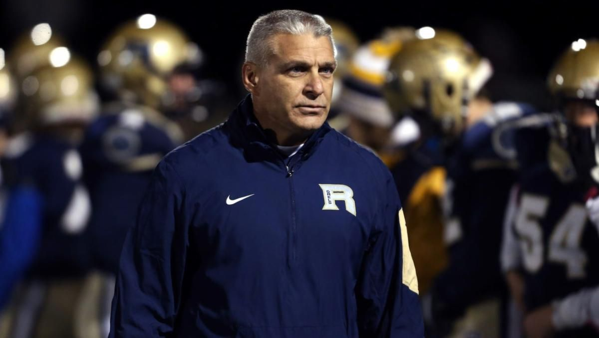 RHS head football coach Cosmo Lorusso