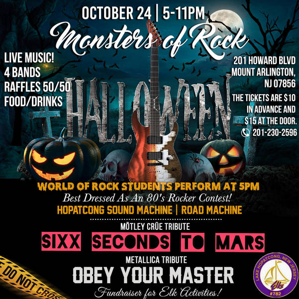 Monster of Rock Concert event poster