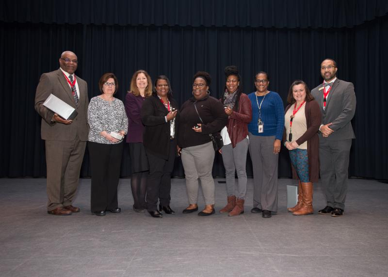 ECC Employees received service awards