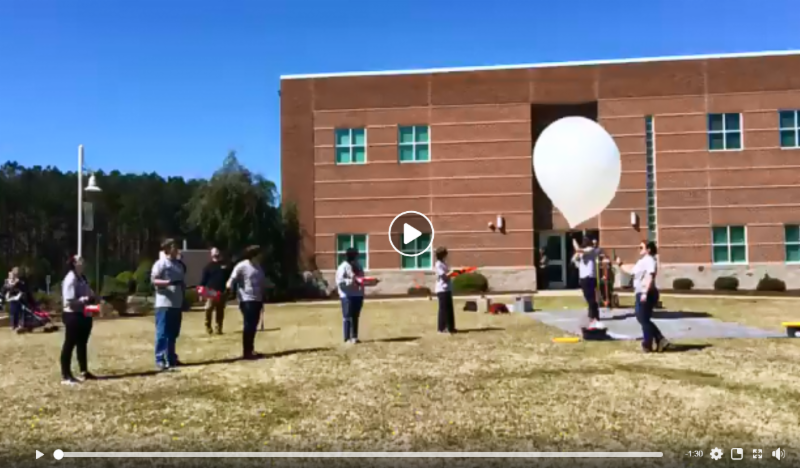 HAB Balloon Launch Facebook Video