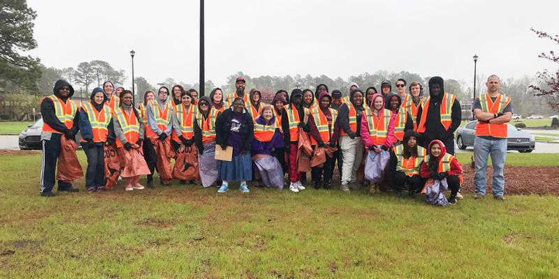 Phi Theta Kappa Highway Cleanup