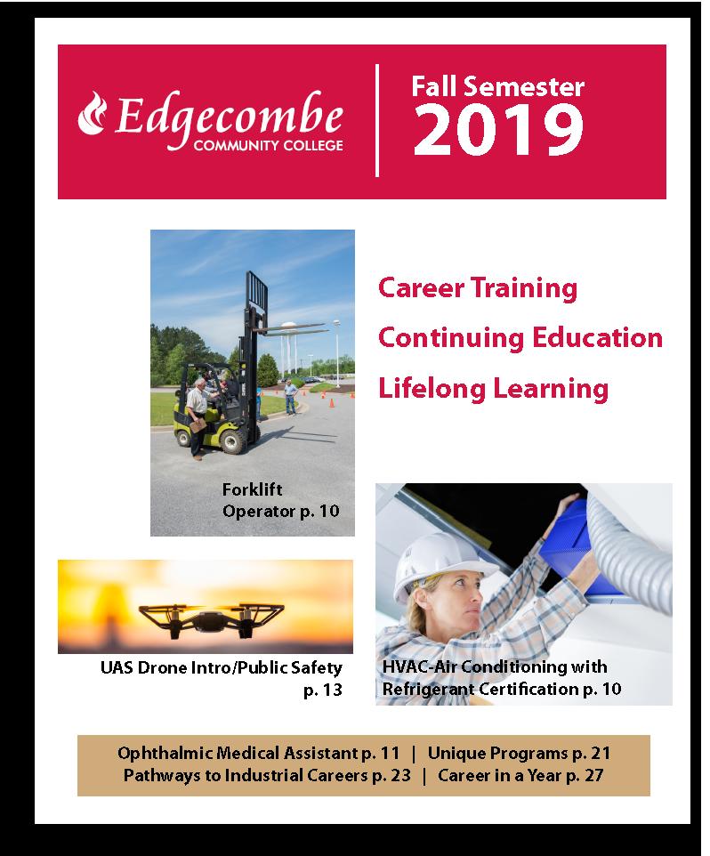 2019 Fall ConEd Schedule