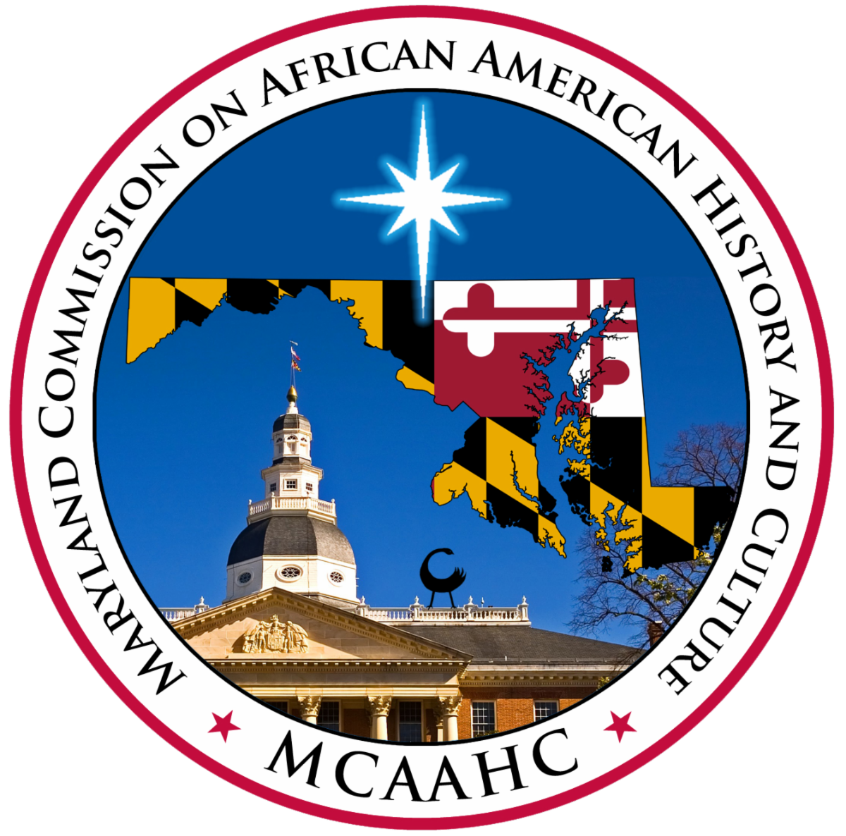 Logo for Maryland Commission on African American History and Culture