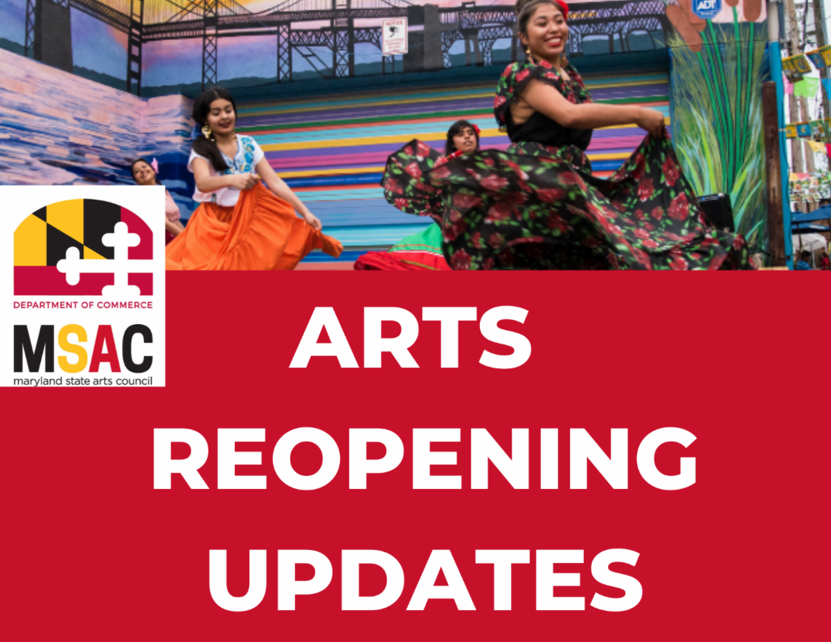 Arts Reopening Update