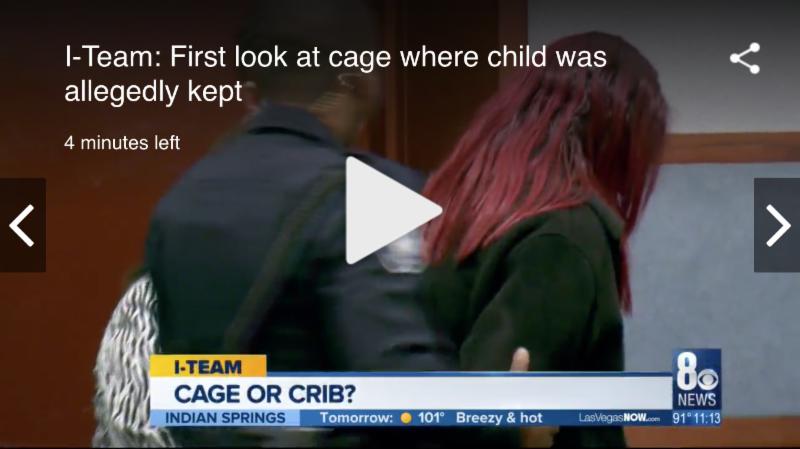 Special Needs Child Kept in Cage Dr Mario Gaspar de Alba KLAS TV
