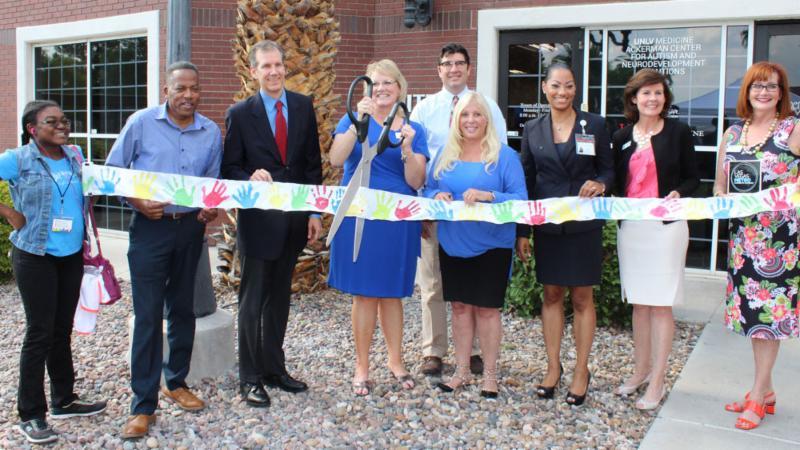 UNLV Medicine Ackerman Center Suite F expansion