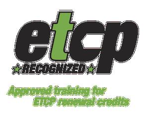 ETCP Recognized Training