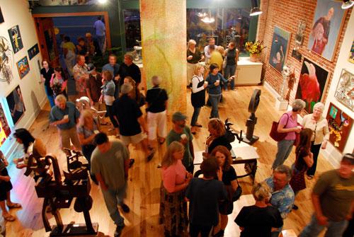 ArtWalk reception
