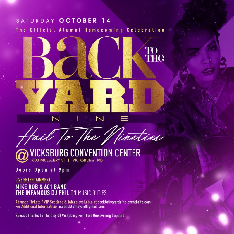 BACK TO THE YARD IX- The OFFICIAL Alumni Homecoming Celebration