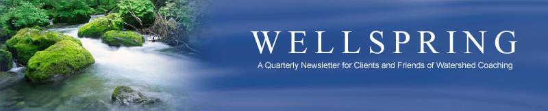 Wellspring Newsletter Header