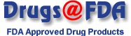 drugs at fda logo